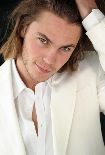 Taylor Kitsch is a finalist for the hottest guy.