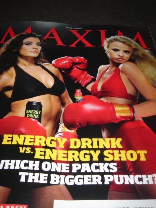 Maxim ad cover