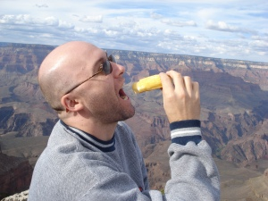 I ate a Twinkie at the Grand Canyon.